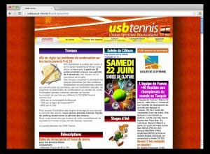 Notre ancien site a vécu. Bienvenue sur l'USBouscat 2.0 !