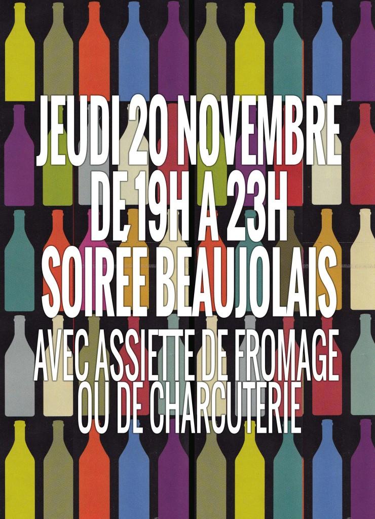 SoiréeBeaujolais2014